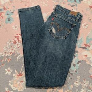 Levi's 524 Jean leggings 5M